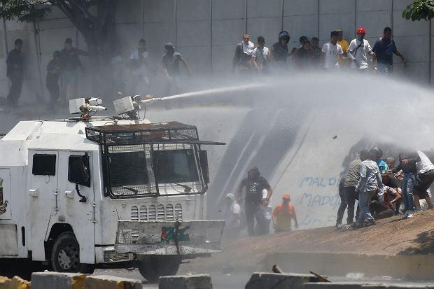 Demonstracje w Wenezueli