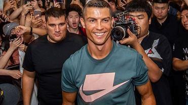 Cristiano Ronaldo poleciał do Chin i wykazał się po raz kolejny ogromnym sercem dla dzieci