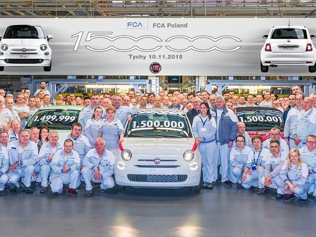 W maju 2018 r. z fabryki w Tychach wyjechał 2-milionowy Fiat 5OO