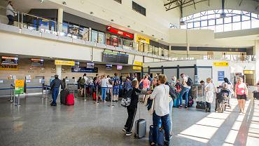 Lotnisko. Zdjęcie ilustracyjne