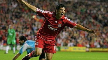Mark Gonzalez (lata 2006/07) w barwach Liverpoolu. Źródło: TWitter