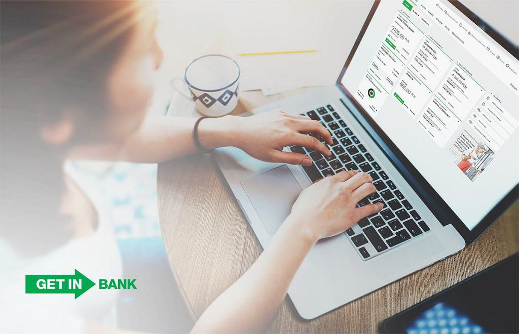 Getin Noble Bank udostępnia klientom szeroki zakres usług bankowości elektronicznej
