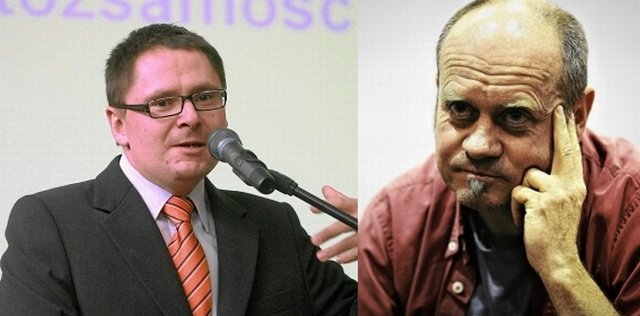 Tomasz Terlikowski i Roman Kurkiewicz