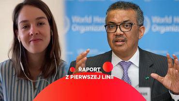 Marta Soszyńska jest polską dziennikarką pracującą w zespole komunikacji Światowej Organizacji Zdrowia (WHO)