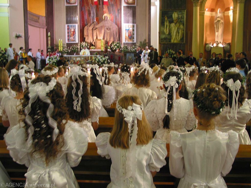 Pierwsza komunia święta (zdjęcie ilustracyjne)