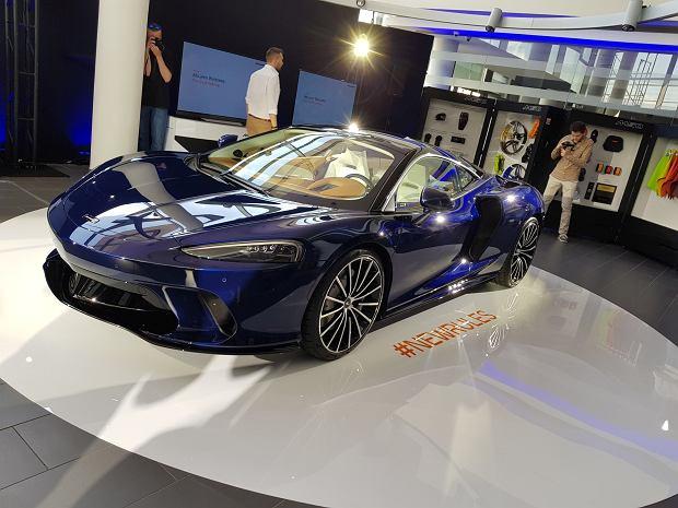 McLaren GT w warszawskim salonie