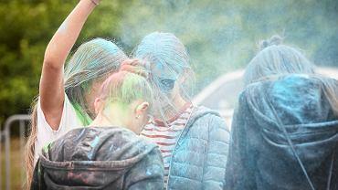 Festiwal kolorów. Zdjęcie ilustracyjne