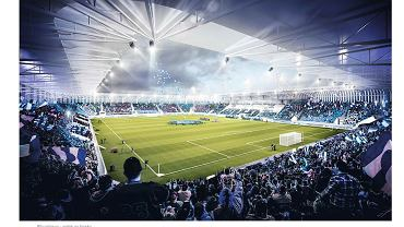 Wizualizacja stadionu Ruchu Chorzów