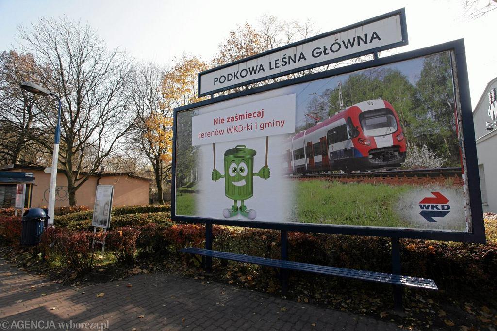 Stacja WKD w Podkowie Leśnej