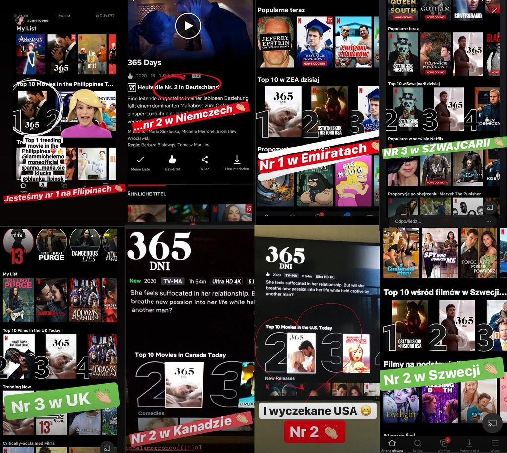 Blanka Lipińska i jej kolejny sukces. '365 dni' jednym z najpopularniejszych filmów na świecie