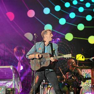 Coldplay na Stadionie Narodowym w Warszawie (19 września 2012 r.)