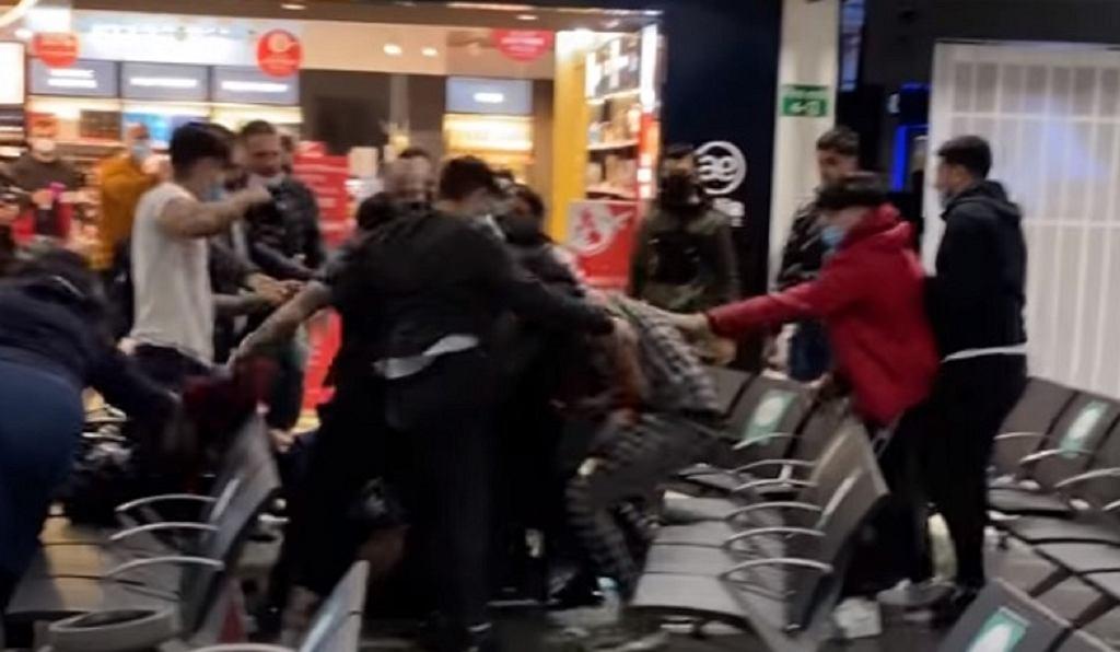 Bójka na lotnisku Luton