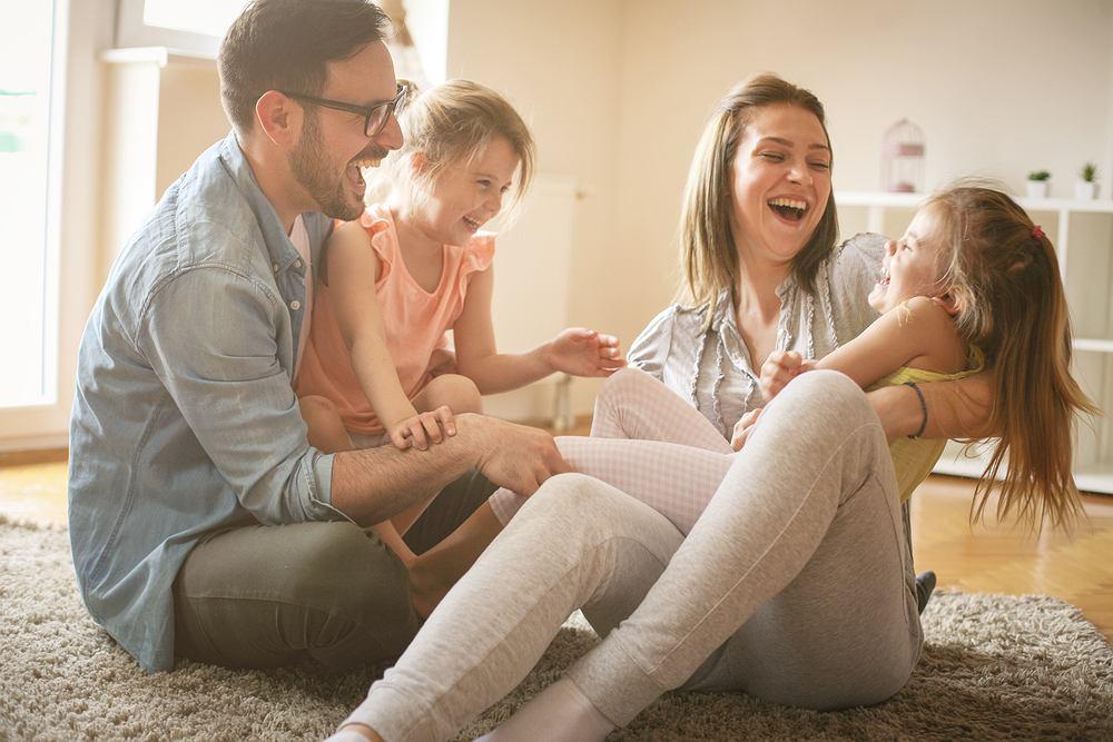 Szczęście dzieci jest najważniejsze dla rodziców