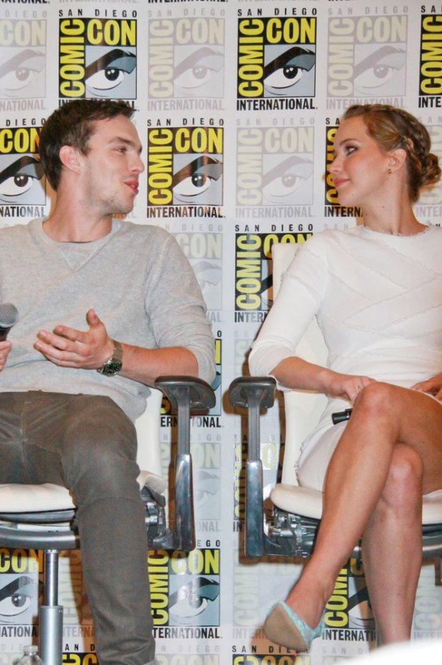 07/20/2013 - Nicholas Hoult, Jennifer Lawrence - Comic-Con International: San Diego 2013 - Day 3 - X-Men: Days of Future Past