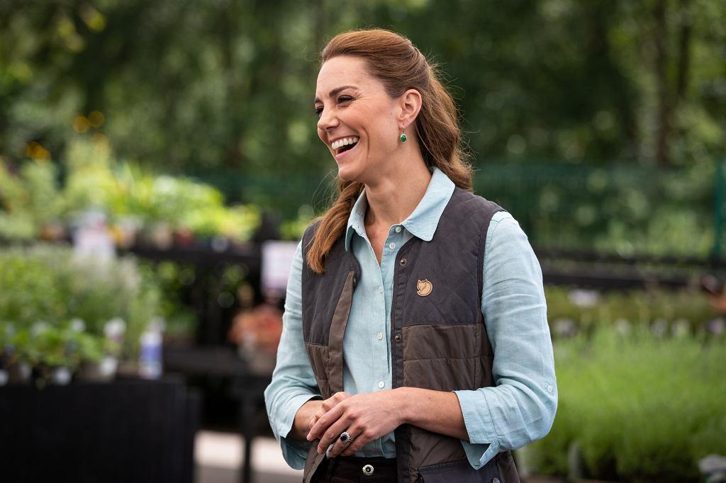 Księżna Cambridge w Fakenham Garen Centre