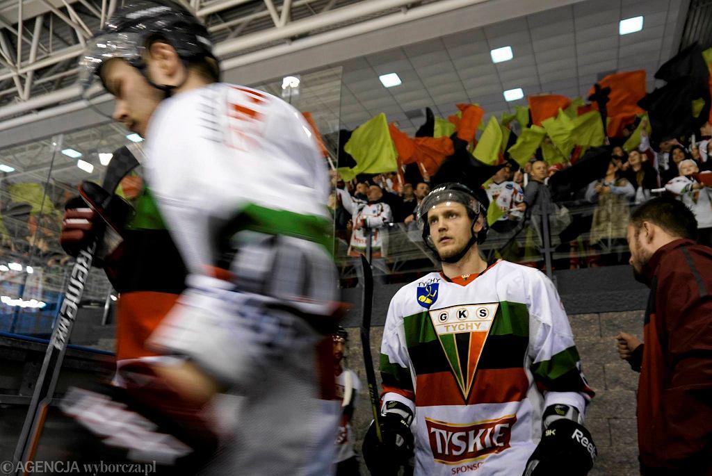 Trzeci mecz finału Polskiej Hokej Ligi: GKS Tychy - JKH GKS Jastrzębie 0:2