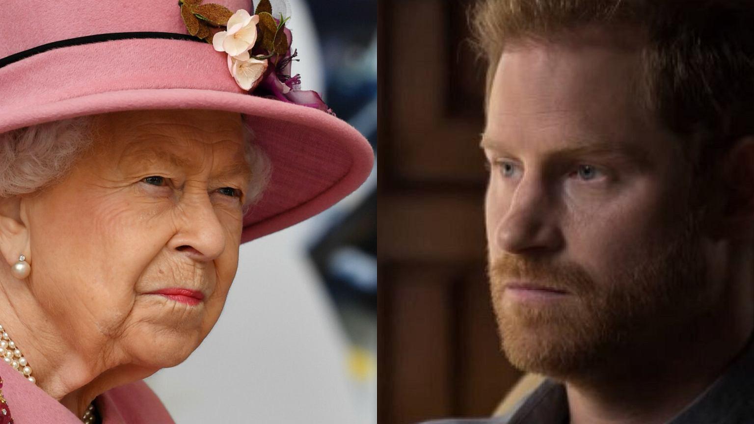Książę Harry chce wydać książkę dopiero po śmierci królowej Elżbiety! Zażądał 40 mln dolarów.