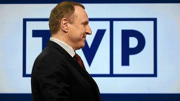 Wsporze wokół TVP prezes PiS Jarosław Kaczyński postawił na Jacka Kurskiego (na zdjęciu), nie na Krzysztofa Czabańskiego