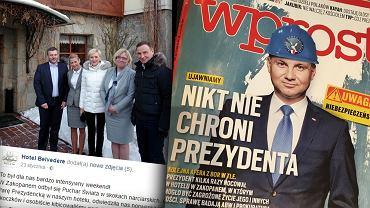 'Wprost' o podróżach Andrzeja Dudy