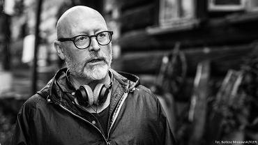 Wojciech Smarzowski na planie filmu Kler
