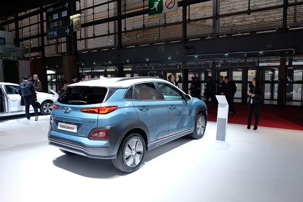 Hyundai Kona Electric Salonie w Paryżu 2018