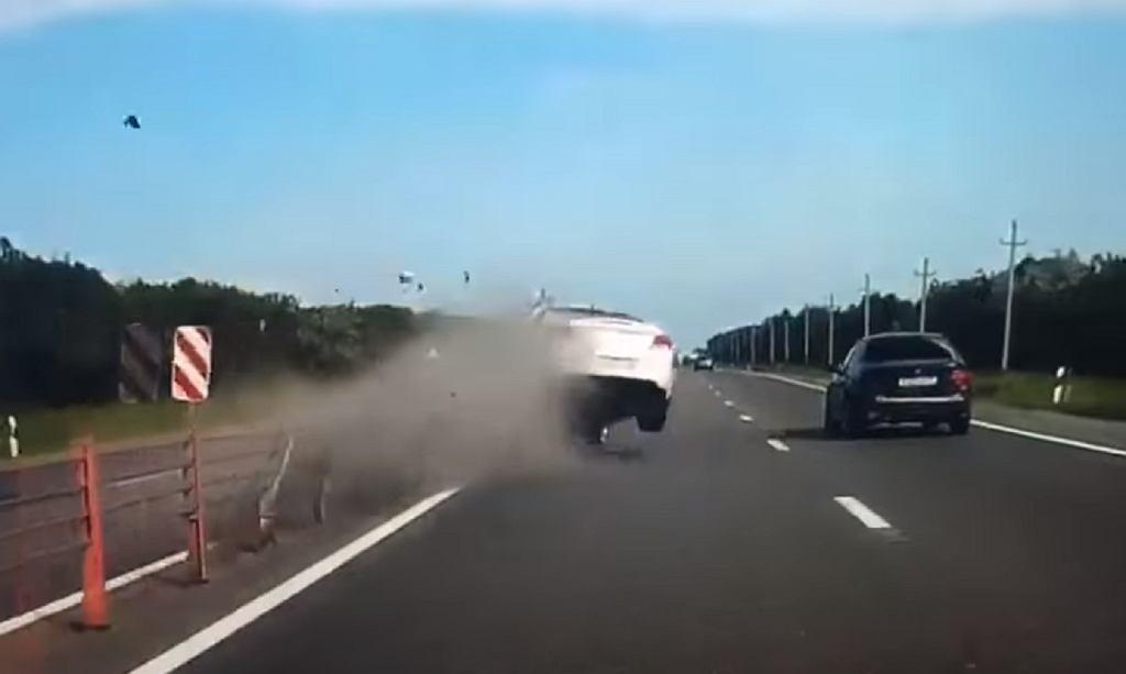 Wypadek na trasie