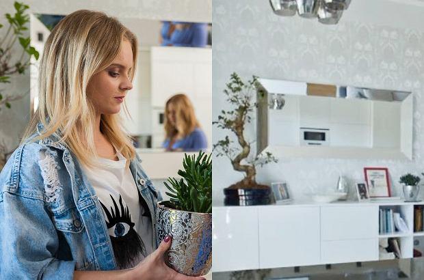 Olga Kalicka pokazała mieszkanie