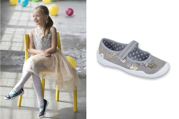 buty dla dziewczynki do szkoły