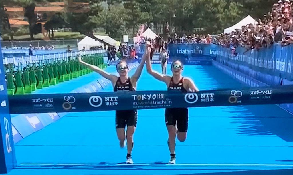 Brytyjskie triathlonistki zostały zdyskwalifikowane