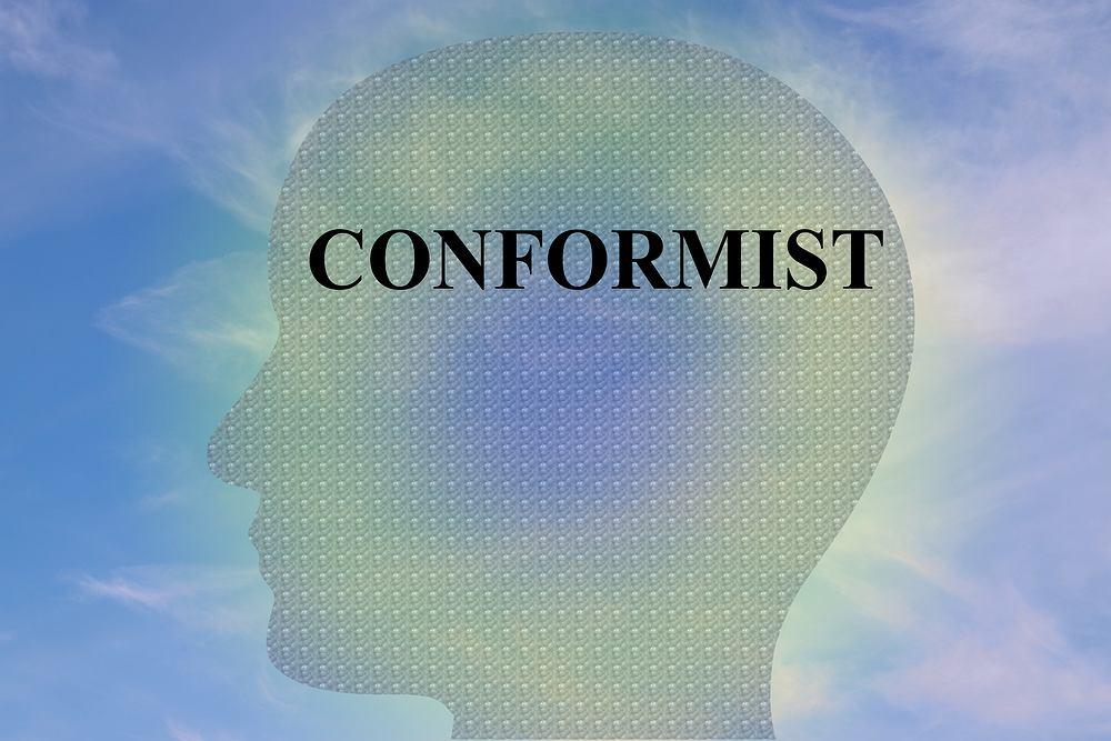 Konformizm to postawa, która oznacza uleganie wpływom i podporządkowanie się zasadom panującym w danej grupie społecznej. Najogólniej rzecz ujmując to dostosowanie się człowieka do norm obowiązujących w grupie.