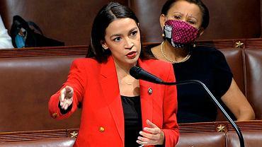 Członkini Izby Reprezentantów Alexandria Ocasio-Cortez