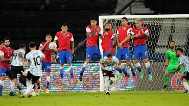 Brazil Argentina Chile Copa America Soccer