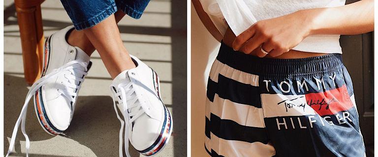 Wyprzedaż Tommy Hilfiger - skórzane torebki, wygodne buty i przewiewne spódnice z rabatem -50%