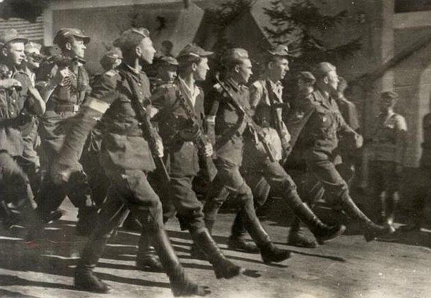 Brygada Świętokrzyska, 1945 rok