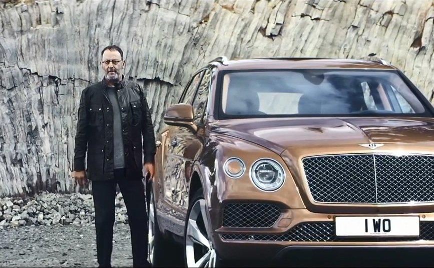 Bentley Bentayga i Jean Reno