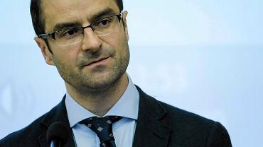 Tomasz Poręba, europoseł PiS, szef sztabu Prawa i Sprawiedliwości na wybory samorządowe 2018