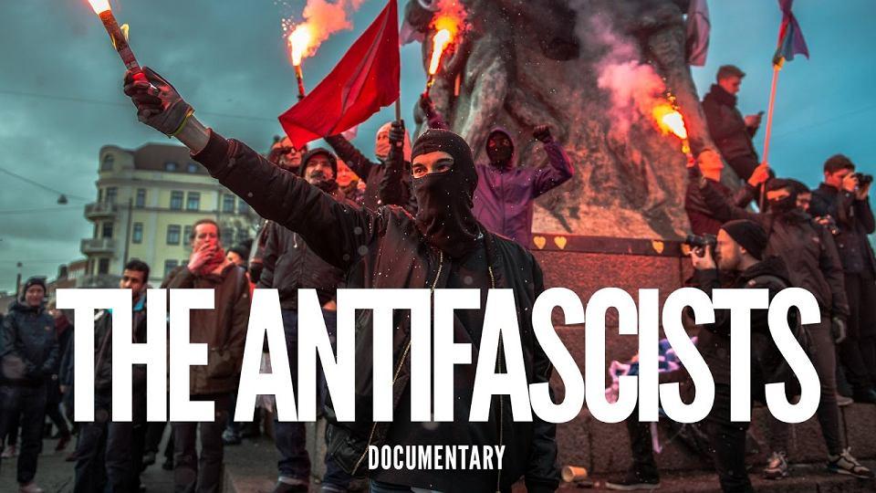 Angielski plakat filmu 'Antyfaszyści'