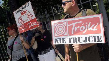 """Protest przed """"Trójką"""""""