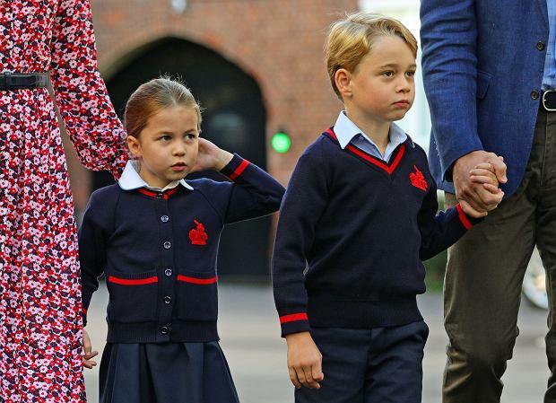 Co dzieci Kate i Williama jedzą w szkole? W menu nie ma jarzynowej i pulpetów