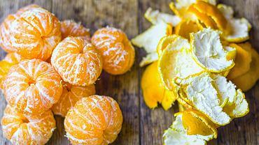 Klementynki mają gładszą, cienką skórkę, którą łatwo obrać