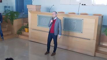 Robert Biedroń na Uniwersytecie Opolskim