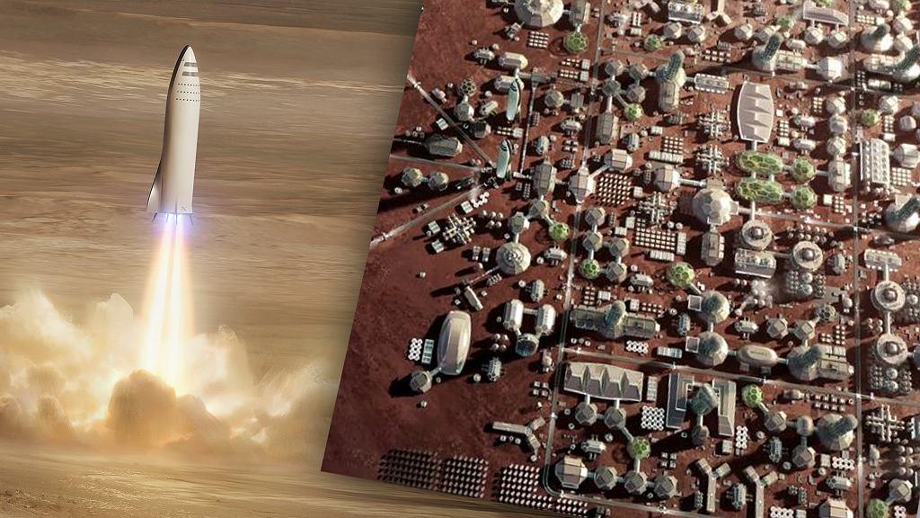 Elon Musk zapowiada: w przyszłym roku test rakiety marsjańskiej