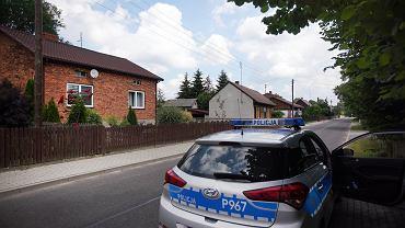 Dom w Borowcach, w którym doszło do zbrodni