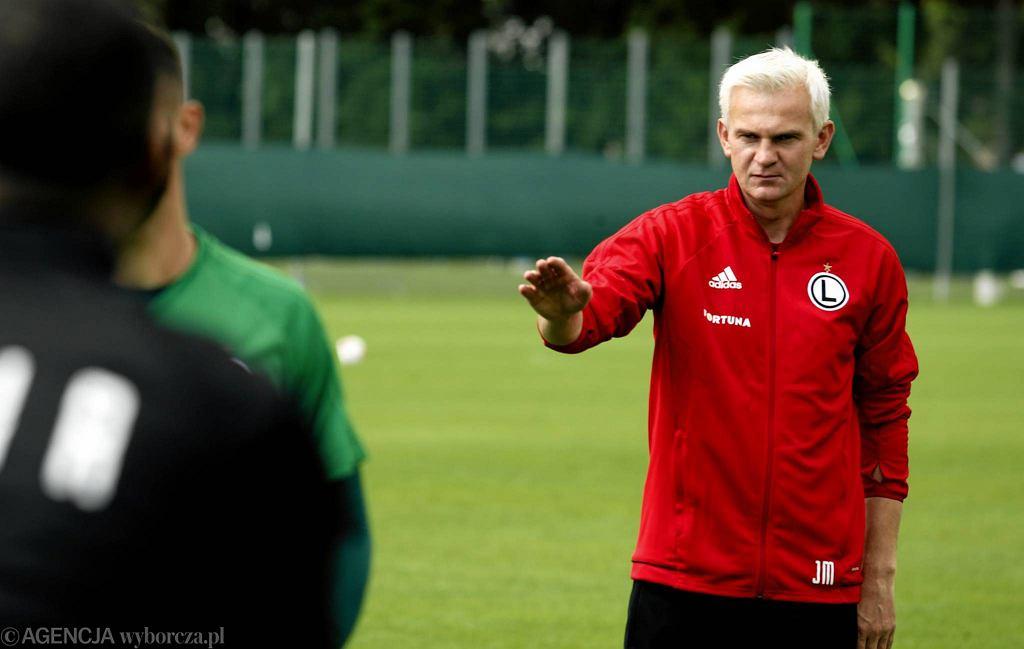 Legia Warszawa. Trening przed pierwszym meczem ekstraklasy