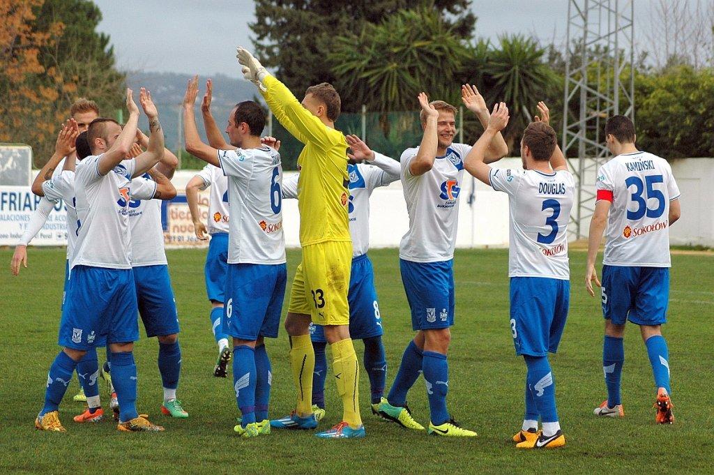 Lech Poznań - FK Krasnodar 0:0 w sparingu rozegranym w Arcos de la Frontera