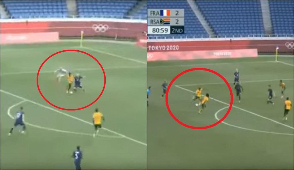 Francja - RPA na igrzyskach olimpijskich w Tokio