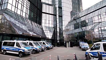 Główna Deutsche Bank we Frankfurcie, 29.11.2018