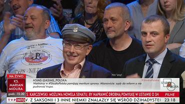 Reakcja gości TVP na słowa o 'wieszaniu sędziów'