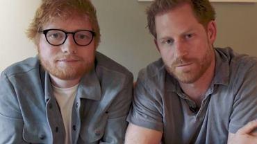 Ed Sheeran i książę Harry