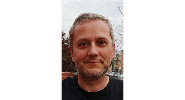 Dr Tomasz Barciński, szef laboratorium mechatroniki i robotyki satelitarnej Centrum Badań Kosmicznych Polskiej Akademii Nauk (fot. Archiwum prywatne)